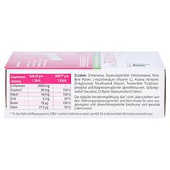 D-MANNOSE Plus 2000 mg m.Vit.u.Mineralstof.Sticks 15x2.47 Gramm - Rechte Seite