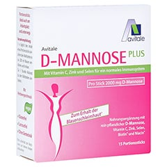 Avitale D-Mannose Plus 2000 mg Sticks 15x2.47 Gramm