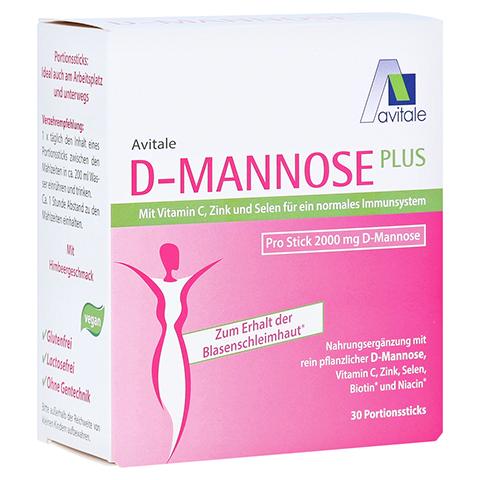 D-MANNOSE Plus 2000 mg m.Vit.u.Mineralstof.Sticks 30x2.47 Gramm