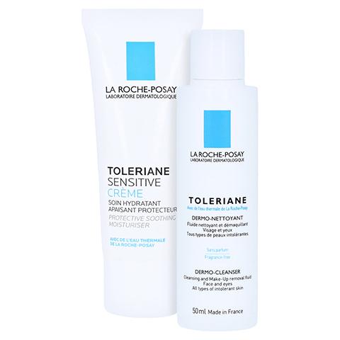 La Roche-Posay Toleriane Sensitive Creme + gratis La Roche Posay Mizellenwasser Sensitiv Skin 50 ml 40 Milliliter