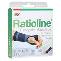 RATIOLINE active Handgelenkbandage Gr.S/M 1 Stück