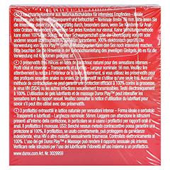 DUREX Gefühlsecht Kondome 3 Stück - Rückseite