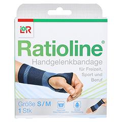 RATIOLINE active Handgelenkbandage Gr.S/M 1 Stück - Vorderseite