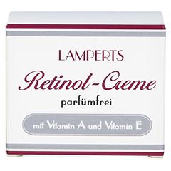 RETINOL CREME parfümfrei Lamperts 50 Milliliter - Vorderseite