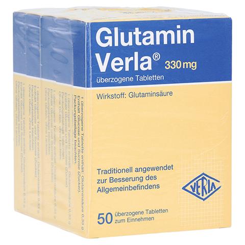 GLUTAMIN VERLA überzogene Tabletten 250 Stück