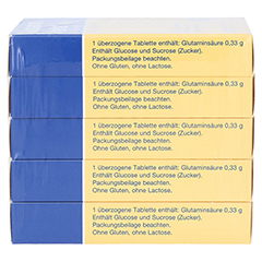 GLUTAMIN VERLA überzogene Tabletten 250 Stück - Linke Seite