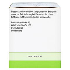 HUSTEN- UND BRONCHIALTEE BOMBASTUS 20x2 Gramm - Rechte Seite