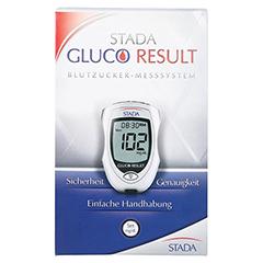 STADA Gluco Result Blutzuckermessgerät mg/dl 1 Stück - Vorderseite