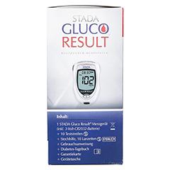 STADA Gluco Result Blutzuckermessgerät mg/dl 1 Stück - Rechte Seite