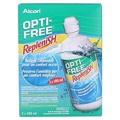 OPTI-FREE RepleniSH Multifunktions-Desinf.Lsg. 2x300 Milliliter - Rückseite