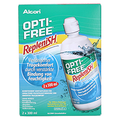 OPTI-FREE RepleniSH Multifunktions-Desinf.Lsg. 2x300 Milliliter - Vorderseite