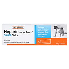 Heparin-ratiopharm 30000 100 Gramm N2 - Vorderseite