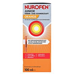 Nurofen Junior Fieber- und Schmerzsaft Orange 40mg/ml 100 Milliliter N1 - Rechte Seite