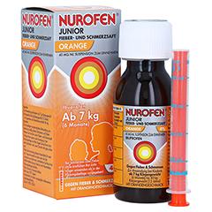 Nurofen Junior Fieber- und Schmerzsaft Orange 40mg/ml 100 Milliliter N1