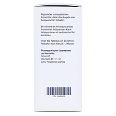 BIOCHEMIE Orthim 5 Kalium phosphoricum D 6 Tabl. 800 Stück - Rechte Seite
