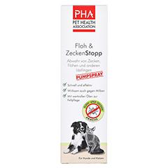 PHA Floh & ZeckenStopp Spray f.Hunde/Katzen 125 Milliliter - Vorderseite