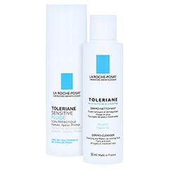 La Roche-Posay Toleriane Sensitive Fluid + gratis Toleriane Reinigungsfluid 50 ml 40 Milliliter