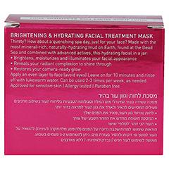 AHAVA Brightening & Hydration Facial Treatm.Mask 100 Milliliter - Rückseite
