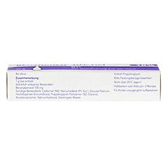 Benzaknen 10% 25 Gramm N1 - Unterseite