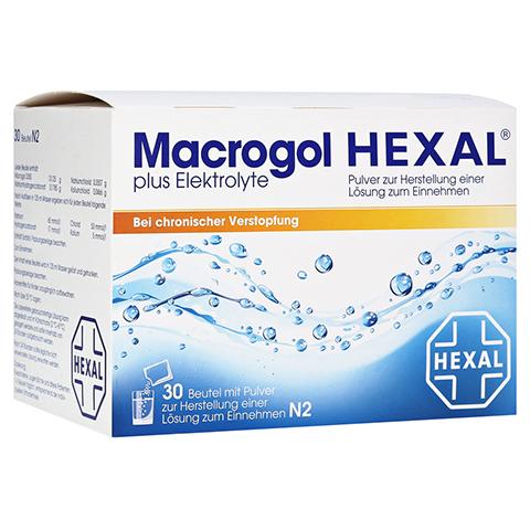 Macrogol HEXAL plus Elektrolyte 30 Stück N2