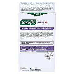 TAXOFIT Selen 55 Depot Mini-Tabletten 40 Stück - Rückseite