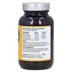 CURCUMA 200 mg+Ingwer 200 mg Kapseln 90 Stück - Linke Seite