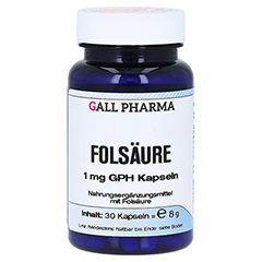 FOLSÄURE 1 mg GPH Kapseln 30 Stück