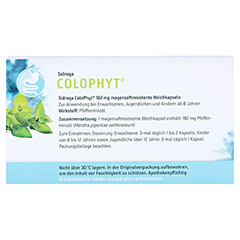 Sidroga ColoPhyt 15 Stück - Rückseite