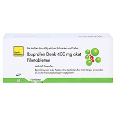 Ibuprofen Denk 400mg akut 50 Stück N3 - Vorderseite