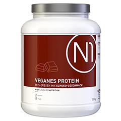 N1 veganes Protein Reis-Erbsen Mix Schoko-Geschm. 1000 Gramm