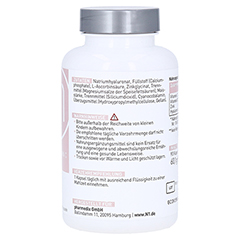 N1 Hyaluronsäure+Vitamin C+Vitamin B12+Zink Kaps. 90 Stück - Linke Seite