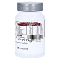 N1 Vitamin B Komplex Tabletten 240 Stück - Rechte Seite