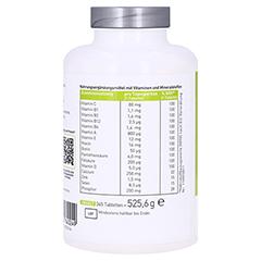 N1 Multivitamine+Mineralstoffe Tabletten 365 Stück - Linke Seite