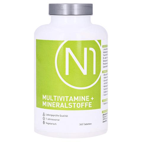 N1 Multivitamine+Mineralstoffe Tabletten 365 Stück