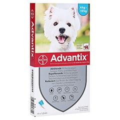 ADVANTIX Spot-on Lsg.z.Auftr.a.d.H.f.Hund 4-10 kg 4 Stück
