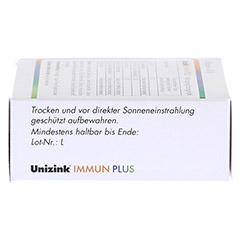 UNIZINK Immun Plus Kapseln 1x30 Stück - Linke Seite