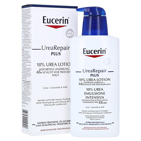 Eucerin UreaRepair plus Lotion 10 % 400 Milliliter