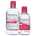 BIODERMA Sensibio H2O Reinigungslösung + gratis Sensibio H2O Reinigungslösung 250 ml 500 Milliliter