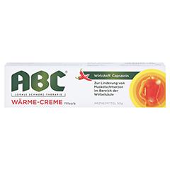 ABC Wärme-Creme Capsicum 0,75mg/g Hansaplast med 50 Gramm - Vorderseite