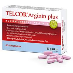 TELCOR Arginin plus Filmtabletten 120 Stück