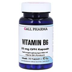 VITAMIN B6 25 mg GPH Kapseln 30 Stück