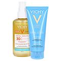 Vichy Ideal Soleil Sonnenspray mit Hyaluron LSF 30 + gratis Vichy Ideal Soleil After-Sun 200 Milliliter