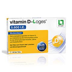 vitamin D-Loges 5.600 I.E. 30 Stück