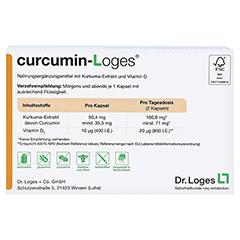 curcumin-Loges 120 Stück - Rückseite