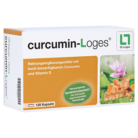 curcumin-Loges 120 Stück