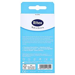 RITEX extra dünn Kondome 8 Stück - Rückseite