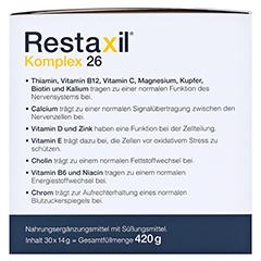 RESTAXIL Komplex 26 Pulver 30 Stück - Linke Seite