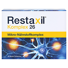 RESTAXIL Komplex 26 Pulver 30 Stück - Vorderseite