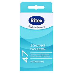 RITEX 47 Kondome 8 Stück - Vorderseite