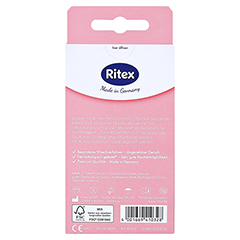 Ritex Ideal Kondome 10 Stück - Rückseite